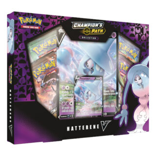 Pokemon TCG 4 Booster Packs Orbeetle V Collection Box